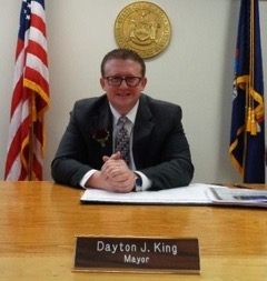 Mayor Dayton King