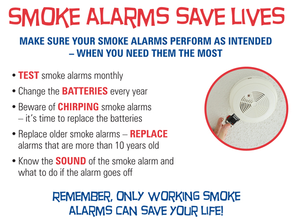 Smoke Detector Safety City Of Gloversville